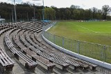Rusza modernizacja stadionu Arkonii Szczecin. Obiekt jeszcze w starym wydaniu. ZDJĘCIA