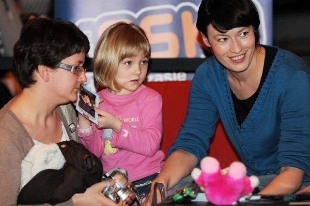 Karolinka Prucnal oraz jej mama Monika również przyłączyły się do akcji.