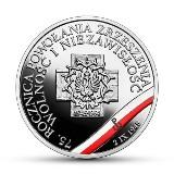 """Nowa moneta NBP. 10 złotych z okazji 75. rocznica powołania Zrzeszenia """"Wolność i Niezawisłość"""". Ile kosztuje?  [zdjęcia]"""