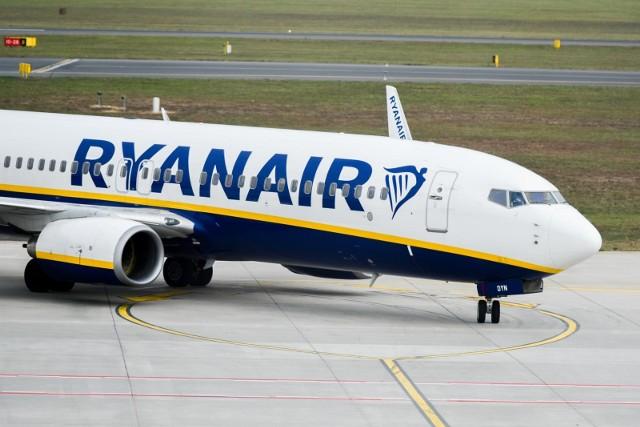 Pasażerowie Ryanair w piątek przeżyli trudne chwile.