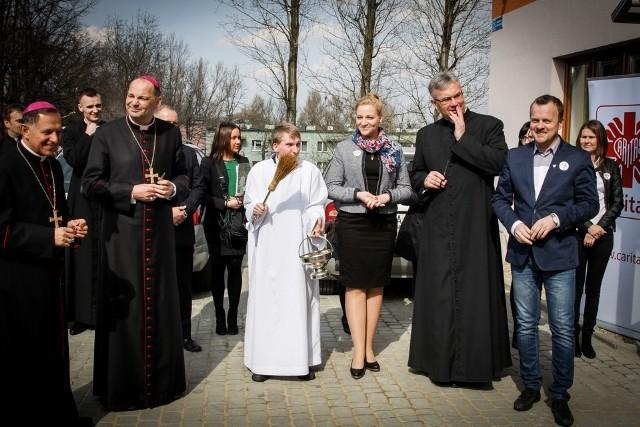 Otwarcie Domu Matki i Dziecka Caritas w Sosnowcu