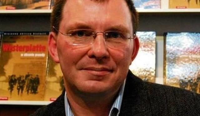 Mariusz Borowiak, historyk Polskiej Marynarki Wojennej, autor kilkudziesięciu książek na ten temat.