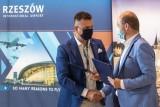 Lotnisko i Rzeszów wznawiają współpracę promocyjną. Umowa jest do marca przyszłego roku