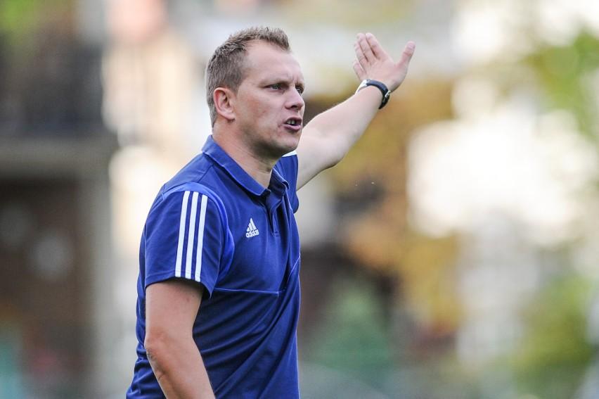 Trener Po-Ra-Wia Tomasz Hejduk szanował zdobyty punkt.