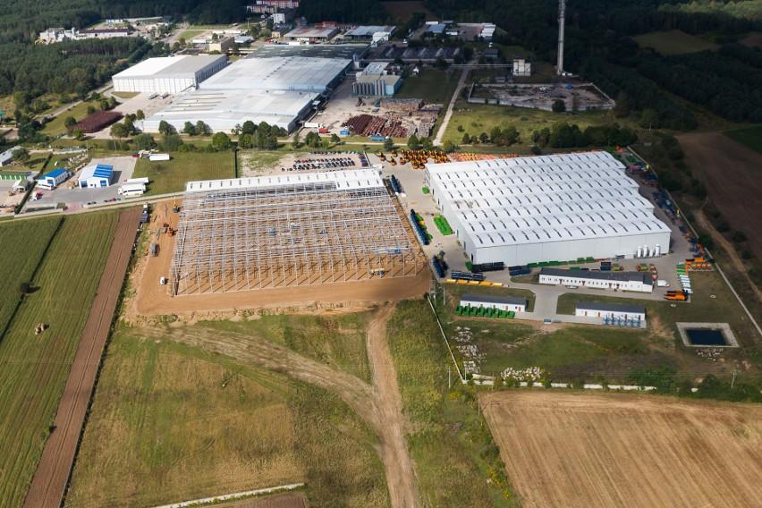 15 czerwca 2010 roku Pronar oficjalnie otworzył nowy zakład...