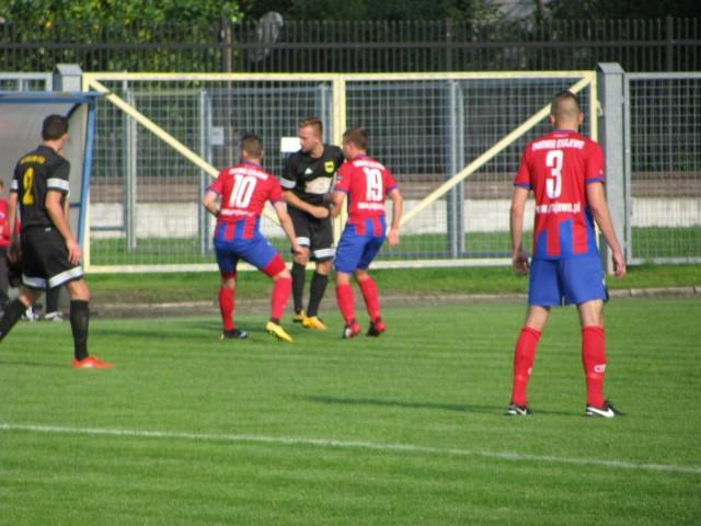 Mecz IV ligi Warmia Grajewo - Biebrza Goniądz
