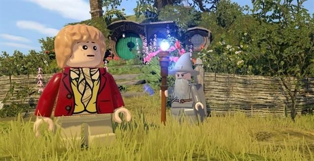 LEGO The HobbitLEGO The Hobbit: Bilbo i Gandalf oczywiście będą w grze.