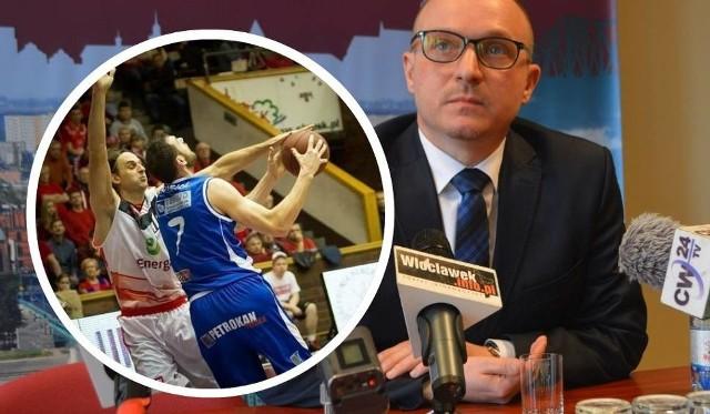 Prezydent Marek Wojtkowski obiecuje, że koszykówka nie zniknie z Włocławka