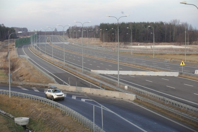 29112013 pyrzowice autostrada a1 fot arkadiusz gola / polskapresse