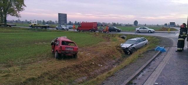 Jadąca oplem corsą ul. Otmuchowską nie ustąpiła pierwszeństwa przejazdu kierującemu audi poruszającemu się drogą nr 401.