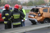 Wrocław: Wypadek na Gądowiance. Są utrudnienia w ruchu