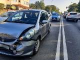 Białystok. Wypadek czterech aut na ul. Wasilkowskiej w stronę centrum. 13-latka trafiła do szpitala [ZDJĘCIA]