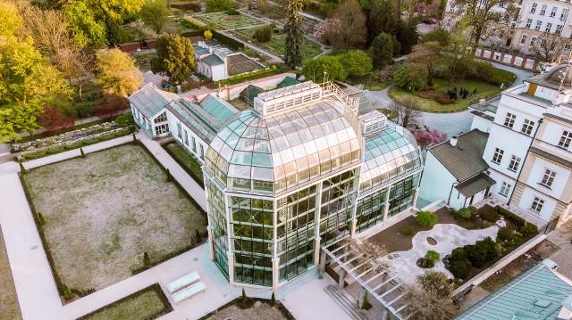 Uniwersytet Jagielloński w dalszym ciągu modernizuje wpisany do rejestru zabytków Ogród Botaniczny przy ul. Kopernika w Krakowie