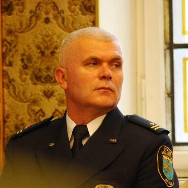 Czy Krzysztof Maślak zostanie szefem strażników miejskich w Opolu? Zadecyduje o tym komisja konkursowa.