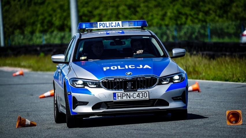 Szkolenie pomorskich policjantów z technik jazdy na...