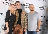 """Kurtka """"puchowa"""" z sianem w środku to hit piątkowych pokazów mody w ramach KTW Fashion Week 2019. To z kolekcji duetu RAD ZDJĘCIA"""