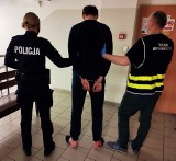 Napad na kuriera w Bytowie. Sprawcy zabrali 10 tys. zł. Zostali zatrzymani