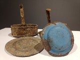 Menażki, talerze i inne przedmioty pruskiego żołnierza odnalezione w okolicy Hrubieszowa