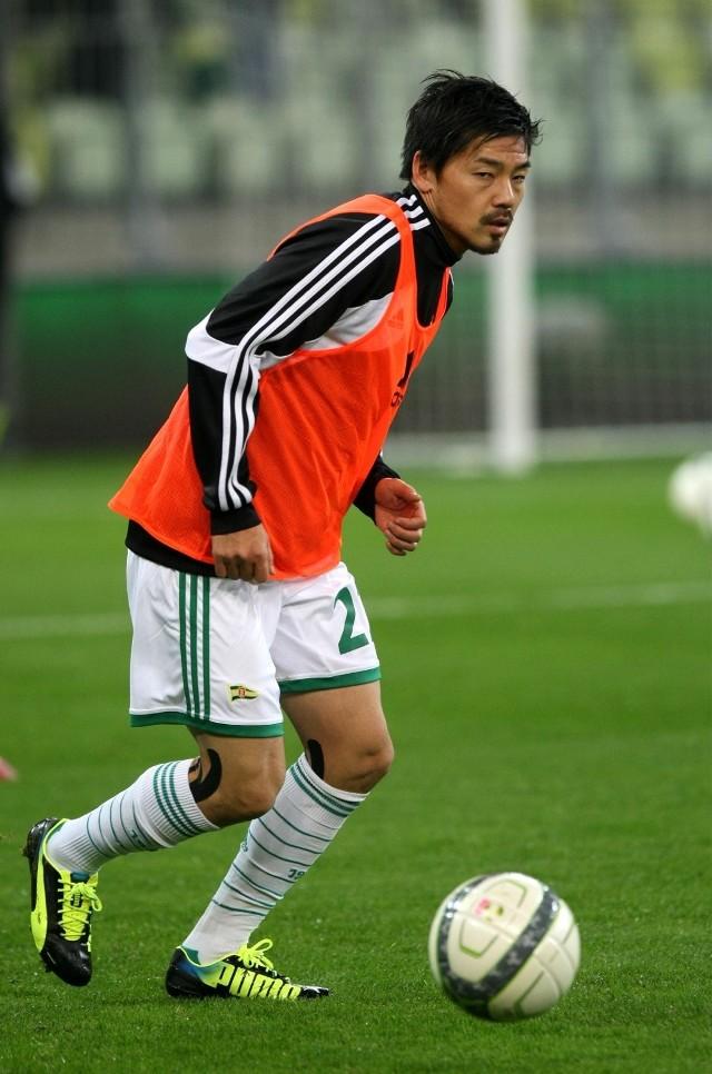 Daisuke Matsui w Polsce grał jesienią 2013 roku w Lechii Gdańsk i w naszej ekstraklasie spisywał się znakomicie.