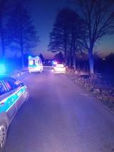 Mokre: Śmiertelne potrącenie rowerzysty. Policja próbuje zidentyfikować ofiarę wypadku
