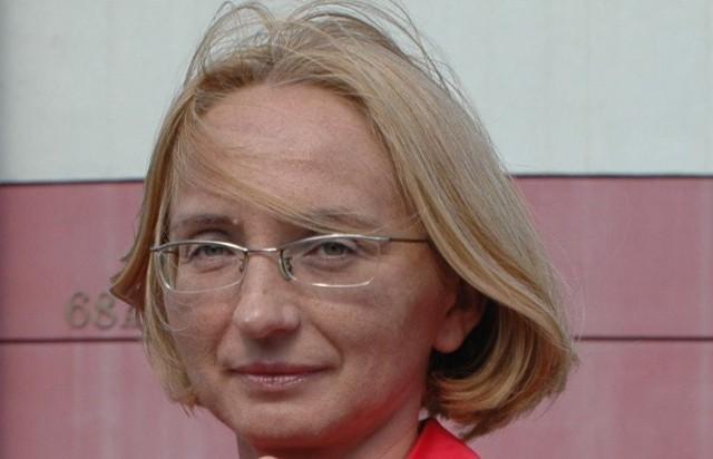 Dr n. med. Lucyną Sochocką, prorektor Państwowej Medycznej Wyższej Szkoły Zawodowej w Opolu.