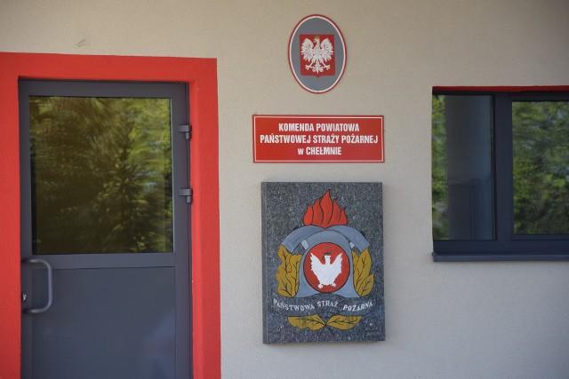 Strażacy z Chełmna mieli już w tym miesiącu dwa wyjazdy do nietypowych zdarzeń