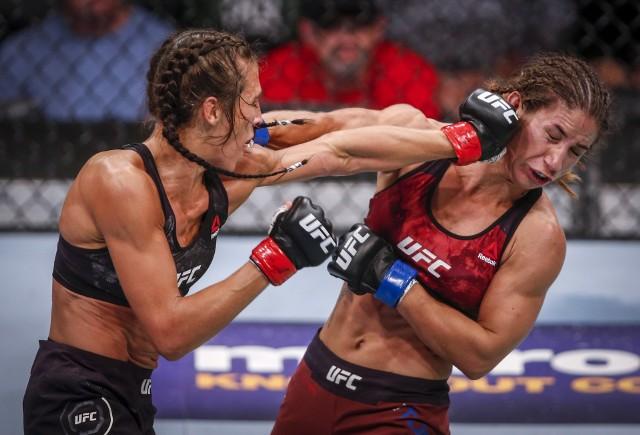 Jędrzejczyk (z lewej) pewnie pokonała Torres