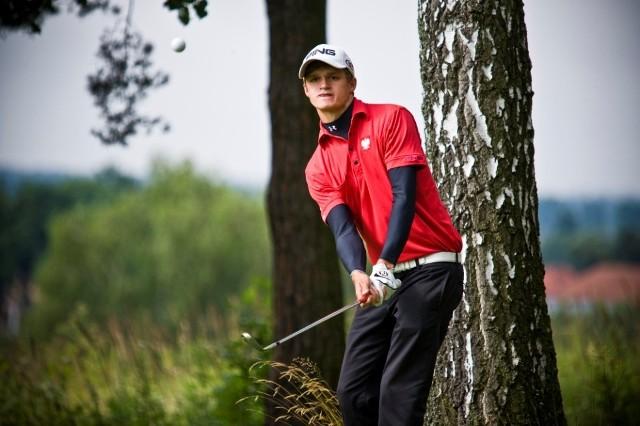 Mateusz Gradecki, jeden ze zdolniejszych młodych, polskich golfistów; wrocławianin