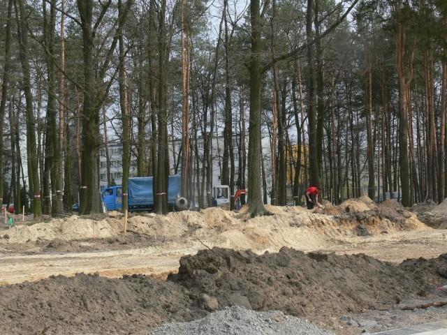 """Przebudowa parku miejskiego, nazywanego przez mieszkańców """"Koziołkiem Matołkiem"""" zakończy się pod koniec lipca tego roku."""