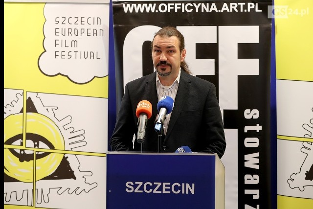 Bartosz Wójcik, dyrektor Szczecin European Film Festival zapowiada bogaty program tegorocznej edycji festiwalu