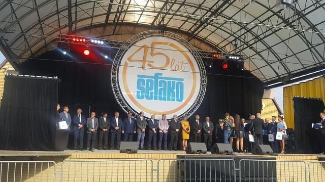 Jubileusz 45-lecia Fabryki Kotłów Sefako