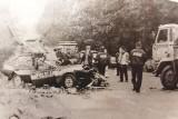 Dokładnie 25 lat temu na drodze krajowej nr 46 w okolicy Sosnówki zginęło dwóch policjantów jadących zabezpieczać wyścig Tour de Pologne