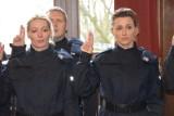Nowi policjanci w województwie zachodniopomorskim złożyli ślubowanie [ZDJĘCIA]