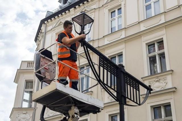 Nowe oświetlenie LED-owe w Bytomiu. W mieście zrobi się jaśniej - wymienione zostanie ponad 7 tys. opraw