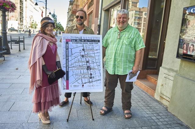 """Organizatorzy wydarzeń z okazji """"Cudu nad Wisłą"""" zapraszają między innymi pod różne adresy przy ulicy Piotrkowskiej"""