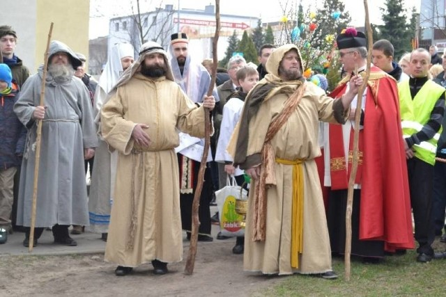Inscenizacja wjazdu Jezusa do Jerozolimy w weekend w Wejherowie