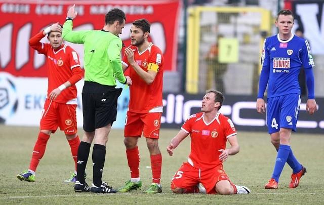 W trzech wiosennych meczach drużyna Widzewa zdobyła tylko punkt.