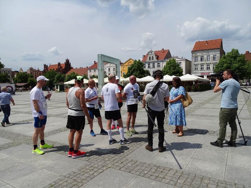 W Chełmnie łączyły się sztafety  biegnące do Grudziądza z...