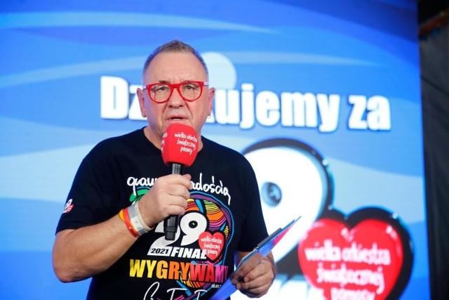 Jerzy Owsiak w specyficzny sposób życzy zdrowia Waldemarowi B., byłemu senatorowi PiS z Pomorza