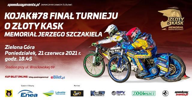 Turniej o Złoty Kask odbędzie się 21 czerwca w Zielonej Górze.