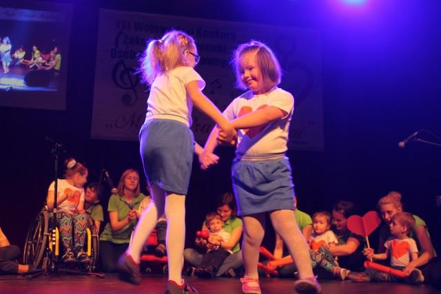 Dla przedszkolaków z Iskierki w Opolu był to debiut na brzeskim festiwalu.