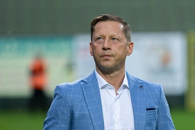 Dariusz Banasik, trener Radomiaka Radom.