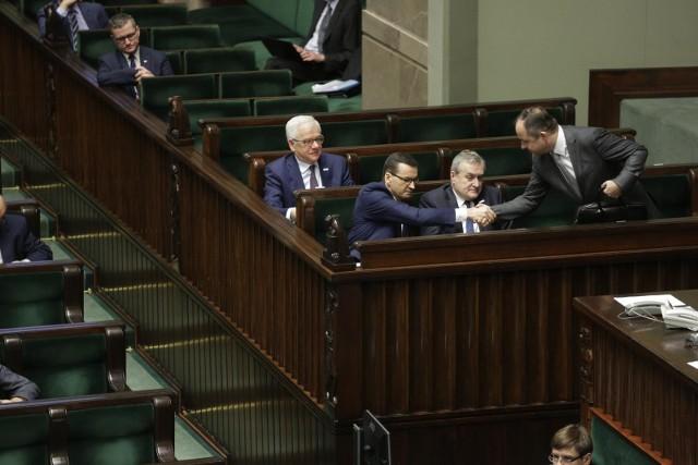 Projekt ustawy o zmianie ustawy o emeryturach i rentach z Funduszu Ubezpieczeń Społecznych oraz niektórych innych ustaw rząd przesłał do Sejmu.