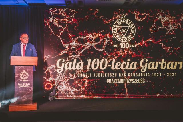 26.09.2021, Kraków, Hotel Qubus: gala z okazji 100-lecia RKS Garbarnia