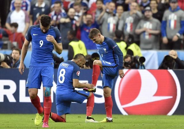 Griezmann, Payet i Giroud - najbardziej skuteczny atak mistrzostw Europy