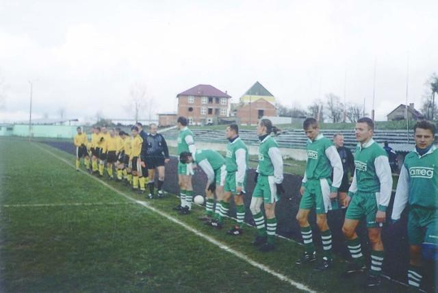 Prosna Zdziechowice (z prawej) znów mierzy w czołówkę ligi wojewódzkiej.
