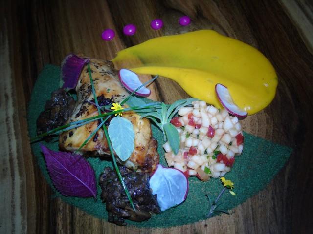 Lubuski skoczek z darami gorzowskich lasów oferowany przez restaurację Bella Toscana