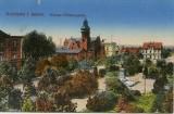 Był placem cesarza Wilhelma I, Wolności, a nawet i... cmentarzem. Zobaczcie, jak przez wieki zmieniał się plac Bohaterów w Zielonej Górze