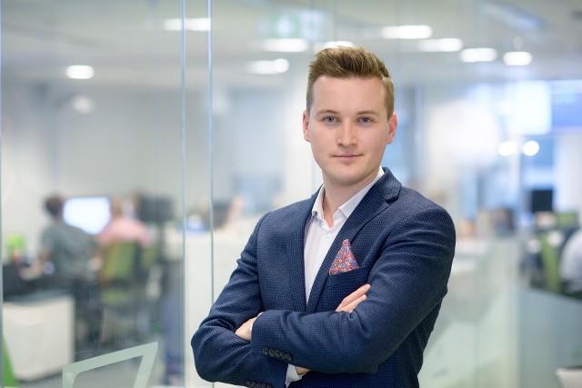 Dominik Ciula, Sales Manager Aasa Polska, odpowiedzialny za markę Aasa dla Biznesu.