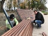 Postępują prace na bulwarach nad Słupią. Zobacz najnowsze zdjęcia